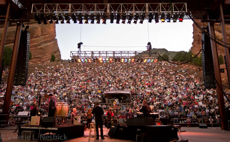 Jim Curry's Performance at Red Rocks in Colorado - Photo by Valerie Nestrick